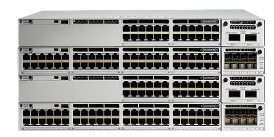Przełącznik Cisco C9300-48P-A (Catalyst 9300 48-port PoE+, Network Advantage) – następca WS-C3650-48PQ-S (48 Port PoE 4x10G Uplink IP Base)