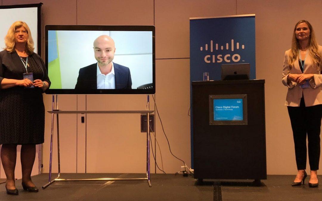 Jak zbudować nowoczesne miejsce do pracy? – relacja z Cisco Digital Forum