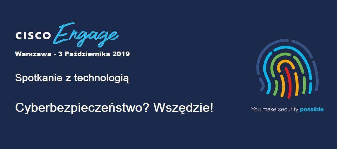 Cisco Engage – 3.10.2019 – Warszawa