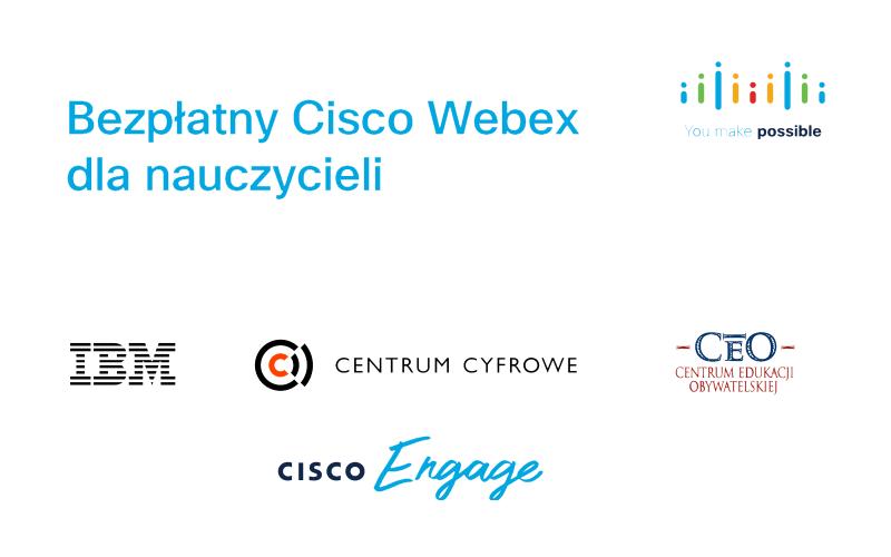 IBM i Cisco ułatwiają zdalne nauczanie w Polsce – bezpłatne wsparcie dla pedagogów w zakresie użytkowania platformy Cisco Webex