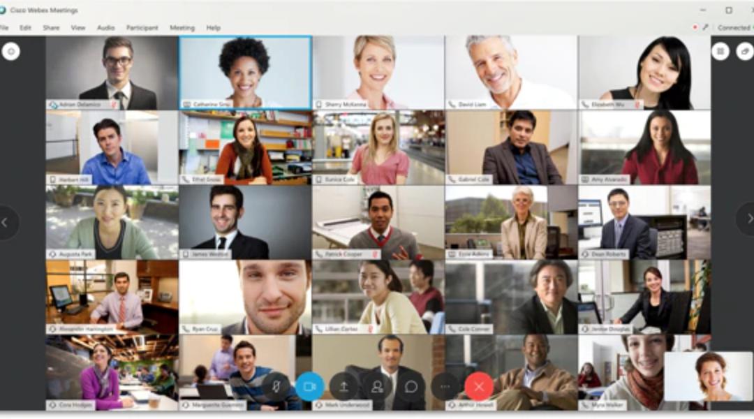 Cisco Webex Meetings, Events – bezpłatne konto testowe dla firmy, uczelni instytucji lub konto personalne Webex Meetings.