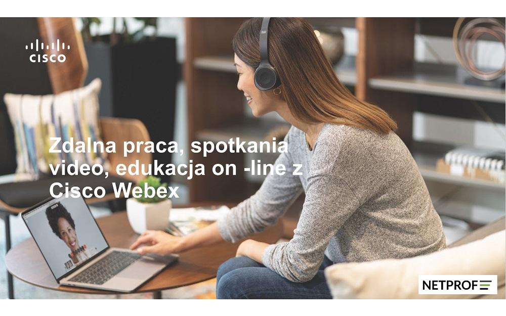 Zdalna praca – spotkania wideo z Cisco Webex – bezpłatny webinar