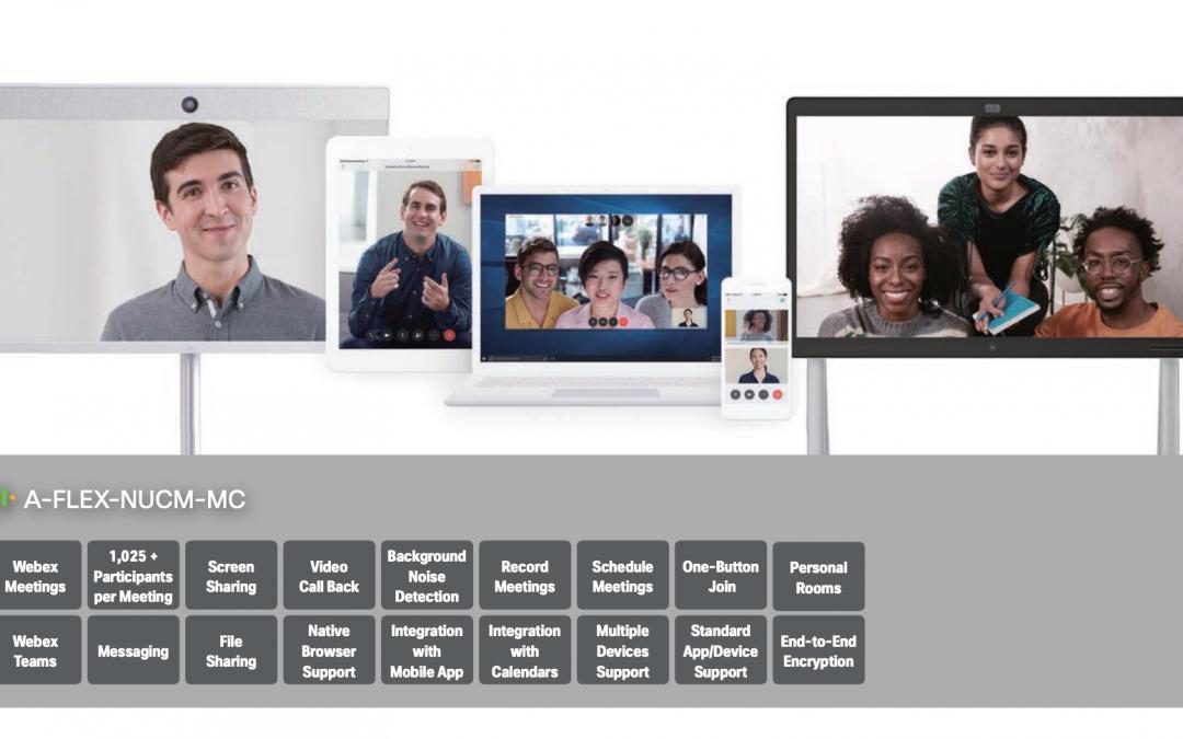 Zakup i licencjonowanie Cisco Webex Meetings, Events, Trainings, Teams