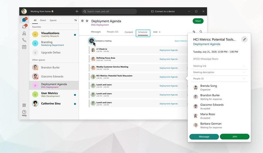 Webex Teams – Opcje spotkań oraz Sponsorzy spotkań