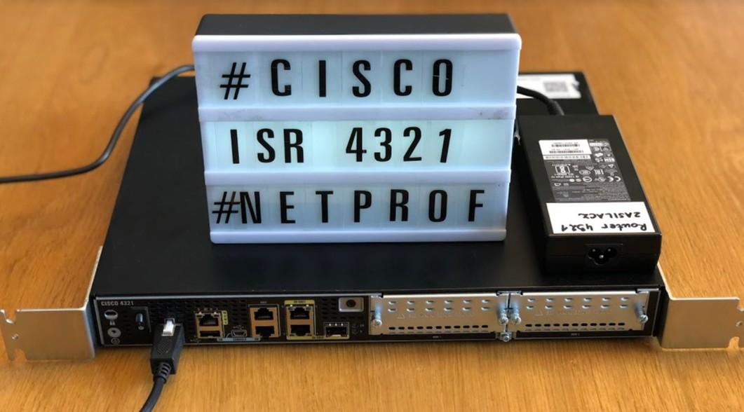 Cisco 4321 Integrated Services Router – Cisco – modularny router