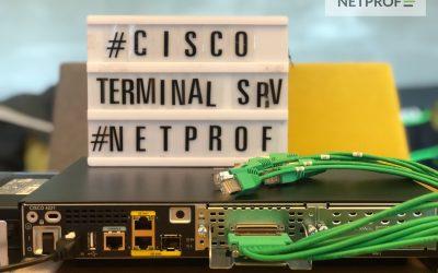 Cisco Terminal Serwer – zdalny dostęp dla sprzętu sieciowego