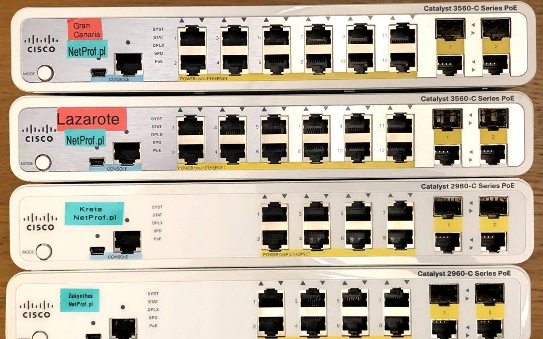 Szkolenie Cisco CCNP Switch